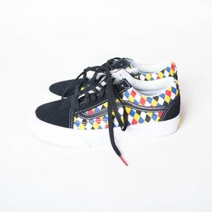 NWT Vans sneakers shoes size 5 playing cards